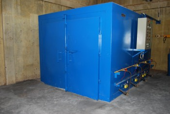 powder coat machine