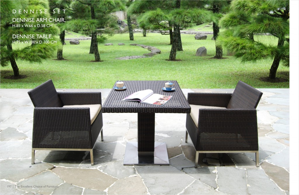 Garden teak furniture is among the best choices