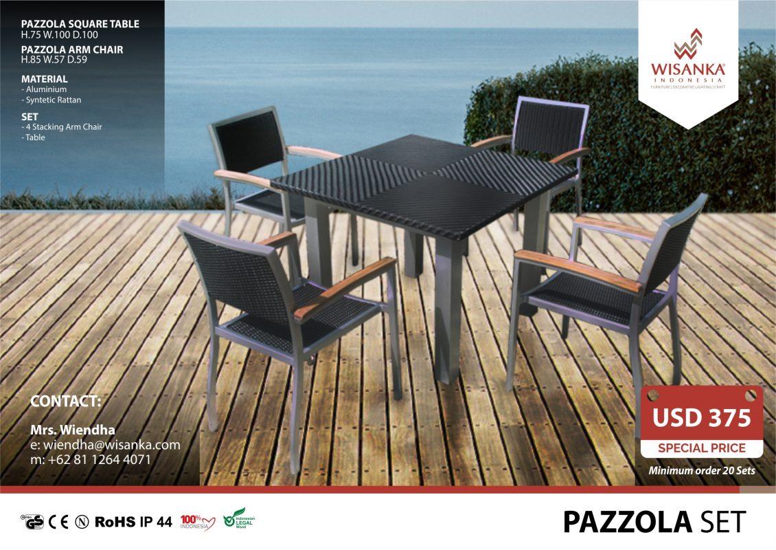 Outdoor Furniture SALE 2019 Marbella Set